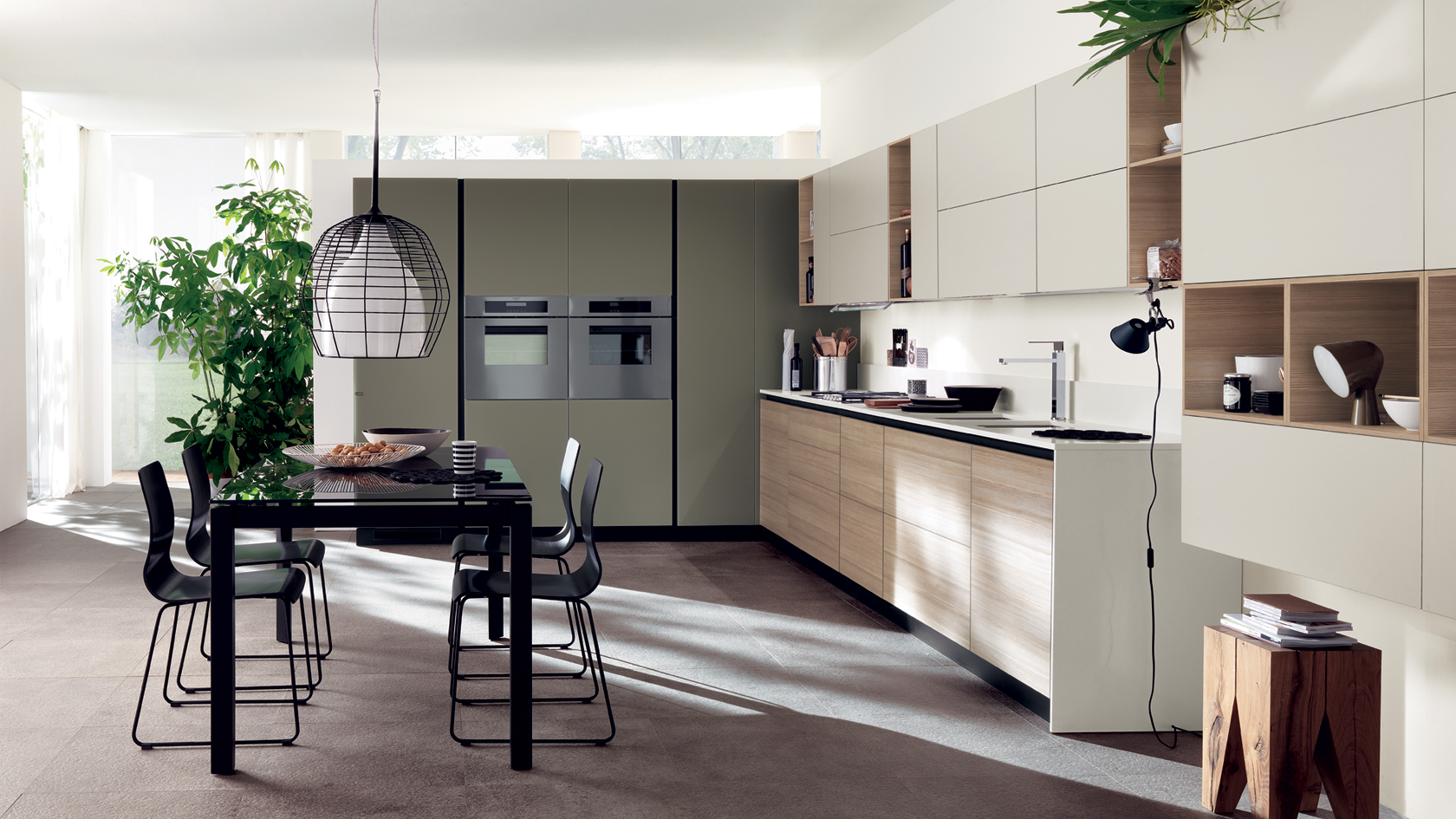Cucine moderne mobil house mosciano - Tipologie di cucine ...