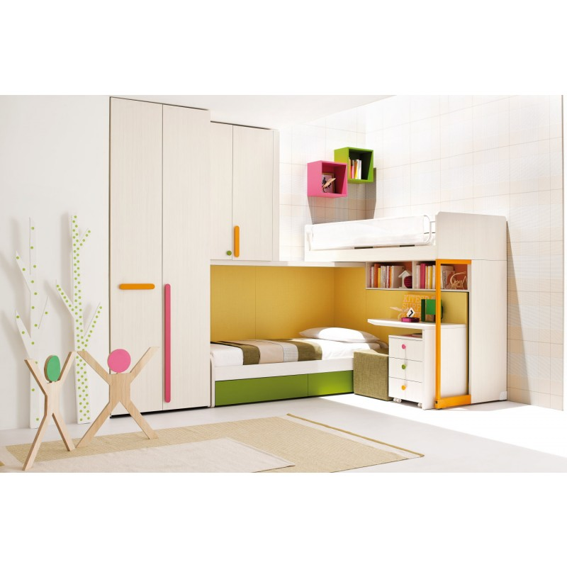 Camerette moderne clever mobil house mosciano - Camerette clever opinioni ...